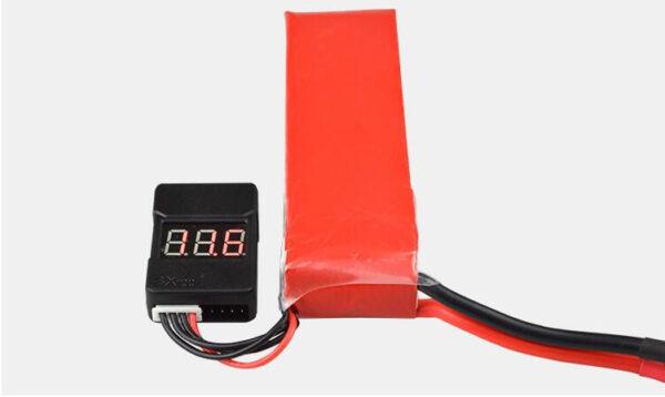 Li-Po Battery Voltage Tester & Low Voltage Buzzer Alarm (349)(401)