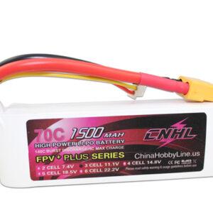 G+PLUS 1500mAh 11.1V 3S 70C Li-Po Battery (522)