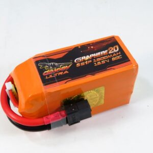 DINOGY GRAPHENE 2.0 1300MAH 5S 80C LIPO BATTERY (643)