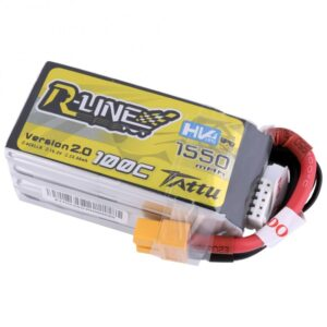 Tattu R-Line Version 2.0 1550mAh 100C 4S1P High Voltage Bateria (341)