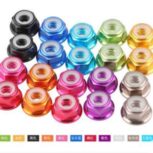 Tuercas aluminio varios colores(268)(467)(468)(469)(615)